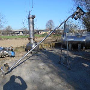 Coclea diametro 50 x 4000 - Coclee usate