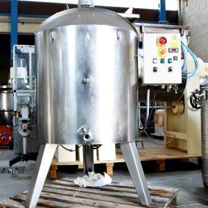 Fusore agitato con resistenze - 300 litri