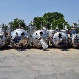 Reattori da litri 2000 - 3000 - 5000