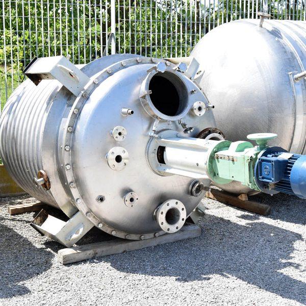 Reattore da 1500 litri