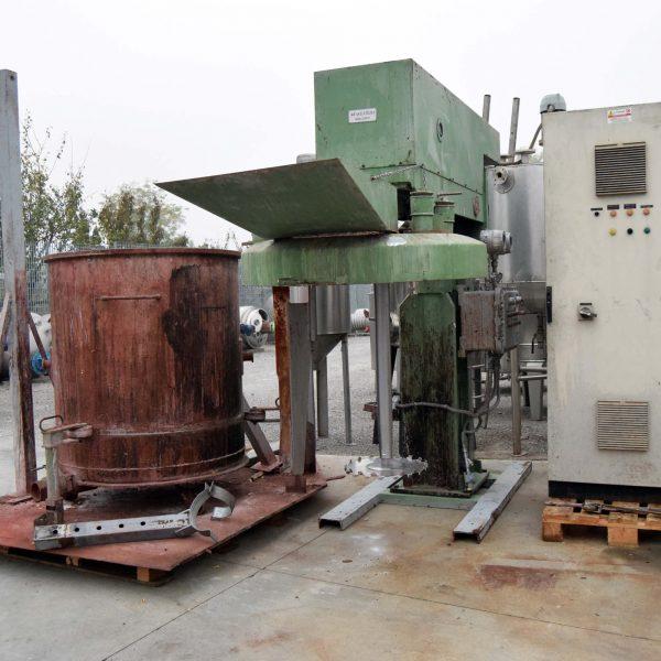 Mescolatore dispersore MOLTENI TM1000