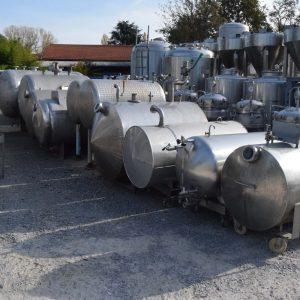 Serbatoi orizzontali da 200 a 2000 litri