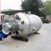 Reattore ALTIERI collaudato – 2000 litri