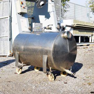 Serbatoio orizzontale - 280 litri