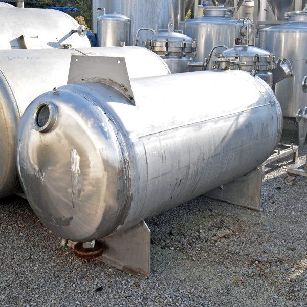 Serbatoio orizzontale incamiciato – 800 litri