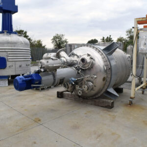 reattore acciaio inox, 2500l
