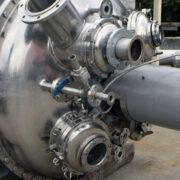 reattore in acciaio inox, 2500 litri