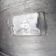 reattore collaudato acinoxa, 3000 litri